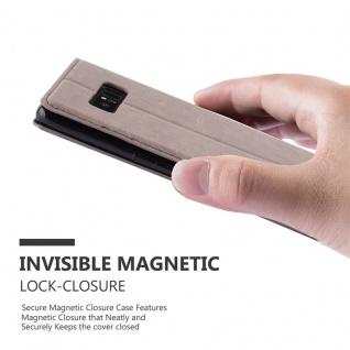 Cadorabo Hülle für Samsung Galaxy NOTE 8 in KAFFEE BRAUN - Handyhülle mit Magnetverschluss, Standfunktion und Kartenfach - Case Cover Schutzhülle Etui Tasche Book Klapp Style - Vorschau 4