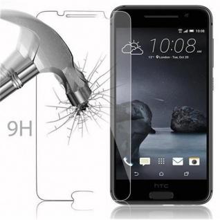 Cadorabo Panzer Folie für HTC ONE A9 - Schutzfolie in KRISTALL KLAR - Gehärtetes (Tempered) Display-Schutzglas in 9H Härte mit 3D Touch Kompatibilität - Vorschau 3