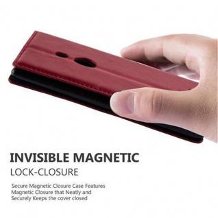 Cadorabo Hülle für Nokia Lumia 925 in APFEL ROT Handyhülle mit Magnetverschluss, Standfunktion und Kartenfach Case Cover Schutzhülle Etui Tasche Book Klapp Style - Vorschau 2