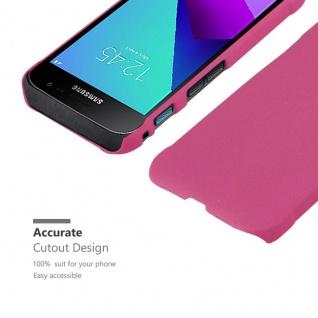 Cadorabo Hülle für Samsung Galaxy XCover 4 in FROSTY PINK - Hardcase Handyhülle aus Plastik gegen Kratzer und Stöße - Schutzhülle Bumper Ultra Slim Back Case Hard Cover - Vorschau 5