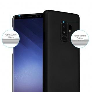 Cadorabo Hülle für Samsung Galaxy S9 PLUS in METALL SCHWARZ - Hardcase Handyhülle aus Plastik gegen Kratzer und Stöße - Schutzhülle Bumper Ultra Slim Back Case Hard Cover - Vorschau 2