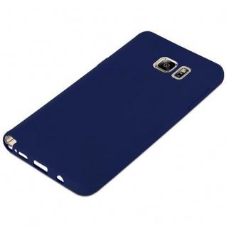Cadorabo Hülle für Samsung Galaxy NOTE 5 in CANDY DUNKEL BLAU - Handyhülle aus flexiblem TPU Silikon - Silikonhülle Schutzhülle Ultra Slim Soft Back Cover Case Bumper - Vorschau 5
