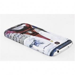 Cadorabo - Hard Cover für Samsung Galaxy S4 MINI - Case Cover Schutzhülle Bumper im Design: PARIS - EIFFELTURM - Vorschau 2