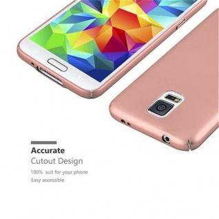 Cadorabo Hülle für Samsung Galaxy S5 / S5 NEO in METALL ROSE GOLD - Hardcase Handyhülle aus Plastik gegen Kratzer und Stöße - Schutzhülle Bumper Ultra Slim Back Case Hard Cover - Vorschau 4