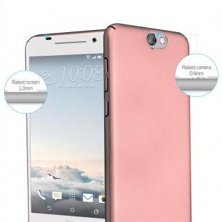 Cadorabo Hülle für HTC One A9 in METALL ROSÉ GOLD ? Hardcase Handyhülle aus Plastik gegen Kratzer und Stöße ? Schutzhülle Bumper Ultra Slim Back Case Hard Cover - Vorschau 2