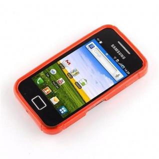 Cadorabo Hülle für Samsung Galaxy ACE 1 in INFERNO ROT - Handyhülle aus flexiblem TPU Silikon - Silikonhülle Schutzhülle Ultra Slim Soft Back Cover Case Bumper - Vorschau 2