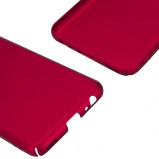Cadorabo Hülle für Huawei P10 in METALL ROT - Hardcase Handyhülle aus Plastik gegen Kratzer und Stöße - Schutzhülle Bumper Ultra Slim Back Case Hard Cover - Vorschau 5