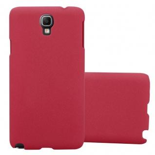 Cadorabo Hülle für Samsung Galaxy NOTE 3 NEO in FROSTY ROT - Hardcase Handyhülle aus Plastik gegen Kratzer und Stöße - Schutzhülle Bumper Ultra Slim Back Case Hard Cover