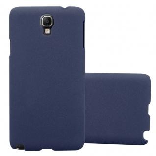 Cadorabo Hülle für Samsung Galaxy NOTE 3 NEO in FROSTY BLAU - Hardcase Handyhülle aus Plastik gegen Kratzer und Stöße - Schutzhülle Bumper Ultra Slim Back Case Hard Cover