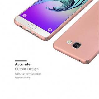 Cadorabo Hülle für Samsung Galaxy A3 2016 in METALL ROSE GOLD - Hardcase Handyhülle aus Plastik gegen Kratzer und Stöße - Schutzhülle Bumper Ultra Slim Back Case Hard Cover - Vorschau 3