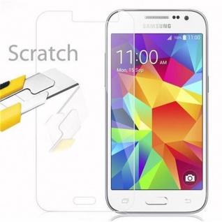 Cadorabo Panzer Folie für Samsung Galaxy CORE PRIME - Schutzfolie in KRISTALL KLAR - Gehärtetes (Tempered) Display-Schutzglas in 9H Härte mit 3D Touch Kompatibilität - Vorschau 2