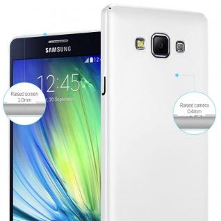 Cadorabo Hülle für Samsung Galaxy A7 2015 in METALL SILBER ? Hardcase Handyhülle aus Plastik gegen Kratzer und Stöße ? Schutzhülle Bumper Ultra Slim Back Case Hard Cover - Vorschau 4