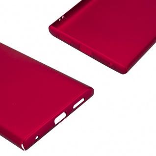 Cadorabo Hülle für Sony Xperia L1 in METALL ROT - Hardcase Handyhülle aus Plastik gegen Kratzer und Stöße - Schutzhülle Bumper Ultra Slim Back Case Hard Cover - Vorschau 5