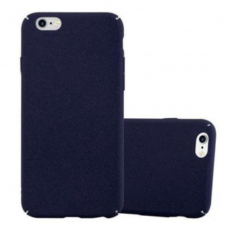 Cadorabo Hülle für Apple iPhone 6 PLUS / iPhone 6S PLUS in FROSTY BLAU - Hardcase Handyhülle aus Plastik gegen Kratzer und Stöße - Schutzhülle Bumper Ultra Slim Back Case Hard Cover