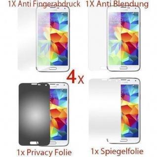 Cadorabo Displayschutzfolien für Samsung Galaxy S5 MINI - Schutzfolien in HIGH CLEAR ? 10 Stück hochtransparenter Schutzfolien gegen Staub, Schmutz und Kratzer