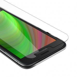 Cadorabo Panzer Folie für Samsung Galaxy XCover 4s - Schutzfolie in KRISTALL KLAR - Gehärtetes (Tempered) Display-Schutzglas in 9H Härte mit 3D Touch Kompatibilität