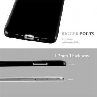 Cadorabo Hülle für Samsung Galaxy GRAND PRIME in JELLY SCHWARZ ? Handyhülle aus flexiblem TPU Silikon ? Silikonhülle Schutzhülle Ultra Slim Soft Back Cover Case Bumper - Vorschau 3