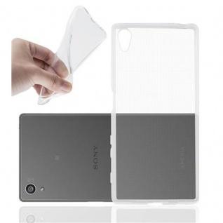 Cadorabo - TPU Ultra Slim Silikon Hülle für Sony Xperia Z5 - Case Cover Schutzhülle Bumper in VOLL-TRANSPARENT