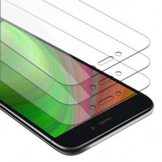 Cadorabo 3x Panzer Folie für Xiaomi RedMi GO - Schutzfolie in KRISTALL KLAR - 3er Pack Gehärtetes (Tempered) Display-Schutzglas in 9H Härte mit 3D Touch Kompatibilität