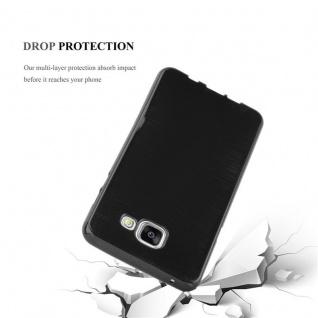 Cadorabo Hülle für Samsung Galaxy A5 2016 in SCHWARZ - Handyhülle aus flexiblem TPU Silikon - Silikonhülle Schutzhülle Ultra Slim Soft Back Cover Case Bumper - Vorschau 3