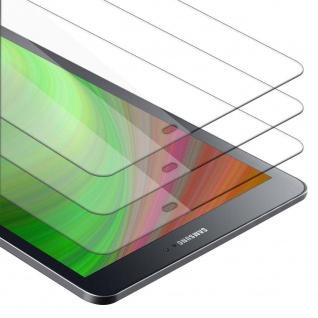 """Cadorabo 3x Panzer Folie für Samsung Galaxy Tab S2 (9.7"""" Zoll) SM-T815N / T813N / T819N Schutzfolie in KRISTALL KLAR 3er Pack Gehärtetes (Tempered) Display-Schutzglas"""