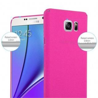 Cadorabo Hülle für Samsung Galaxy NOTE 5 in FROSTY PINK - Hardcase Handyhülle aus Plastik gegen Kratzer und Stöße - Schutzhülle Bumper Ultra Slim Back Case Hard Cover - Vorschau 5