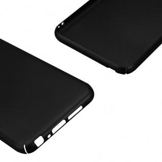 Cadorabo Hülle für HTC One A9 in METALL SCHWARZ - Hardcase Handyhülle aus Plastik gegen Kratzer und Stöße - Schutzhülle Bumper Ultra Slim Back Case Hard Cover - Vorschau 5