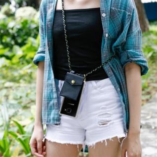 Cadorabo Handy Kette für Samsung Galaxy A5 2016 in CAMOUFLAGE ? Silikon Necklace Umhänge Hülle mit Gold Ringen, Kordel Band Schnur und abnehmbarem Etui ? Schutzhülle - Vorschau 5