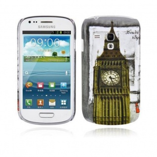 Cadorabo - Hard Cover für Samsung Galaxy S3 MINI - Case Cover Schutzhülle Bumper im Design: LONDON - BIG BEN
