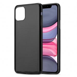 Cadorabo Hülle für Apple iPhone 11 (XI) in SCHWARZ - Handyhülle aus flexiblem TPU Silikon - Silikonhülle Schutzhülle Ultra Slim Soft Back Cover Case Bumper - Vorschau 4