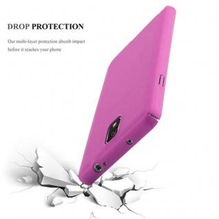 Cadorabo Hülle für Samsung Galaxy NOTE 3 in FROSTY PINK - Hardcase Handyhülle aus Plastik gegen Kratzer und Stöße - Schutzhülle Bumper Ultra Slim Back Case Hard Cover - Vorschau 3