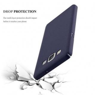 Cadorabo Hülle für Samsung Galaxy A5 2015 in FROSTY BLAU - Hardcase Handyhülle aus Plastik gegen Kratzer und Stöße - Schutzhülle Bumper Ultra Slim Back Case Hard Cover - Vorschau 3