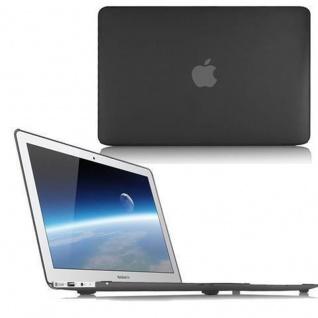 Cadorabo - Mattes HardCase für Apple MacBook PRO 15 (Zoll) ? Case Hartschale Schutzhülle Cover MacBook Tasche in SCHWARZ - leicht und schützend