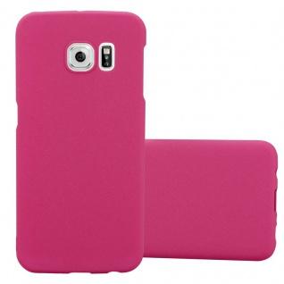 Cadorabo Hülle für Samsung Galaxy S6 EDGE PLUS in FROSTY PINK Hardcase Handyhülle aus Plastik gegen Kratzer und Stöße Schutzhülle Bumper Ultra Slim Back Case Hard Cover
