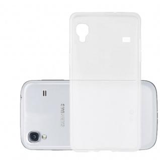Cadorabo Hülle für Samsung Galaxy ACE 1 in VOLL TRANSPARENT - Handyhülle aus flexiblem TPU Silikon - Silikonhülle Schutzhülle Ultra Slim Soft Back Cover Case Bumper