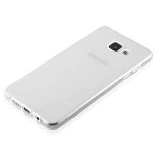 Cadorabo Hülle für Samsung Galaxy A3 2016 in VOLL TRANSPARENT - Handyhülle aus flexiblem TPU Silikon - Silikonhülle Schutzhülle Ultra Slim Soft Back Cover Case Bumper - Vorschau 3