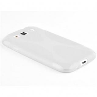 Cadorabo Hülle für Samsung Galaxy S3 / S3 NEO in HALB TRANSPARENT ? Handyhülle aus flexiblem TPU Silikon ? Silikonhülle Schutzhülle Ultra Slim Soft Back Cover Case Bumper - Vorschau 3