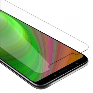 Cadorabo Panzer Folie für Xiaomi RedMi NOTE 5 - Schutzfolie in KRISTALL KLAR - Gehärtetes (Tempered) Display-Schutzglas in 9H Härte mit 3D Touch Kompatibilität