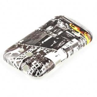 Cadorabo - Hard Cover für Samsung Galaxy TREND LITE - Case Cover Schutzhülle Bumper im Design: NEW YORK CAB - Vorschau 3