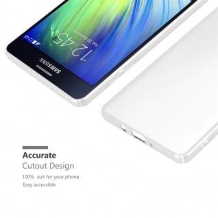 Cadorabo Hülle für Samsung Galaxy A7 2015 in METALL SILBER ? Hardcase Handyhülle aus Plastik gegen Kratzer und Stöße ? Schutzhülle Bumper Ultra Slim Back Case Hard Cover - Vorschau 5