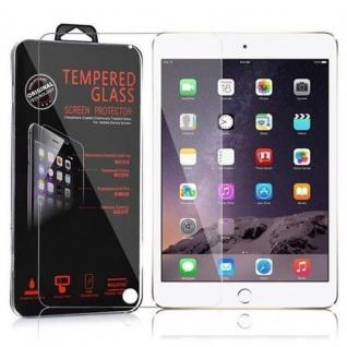 Cadorabo Panzer Folie für Apple iPad MINI 4 - Schutzfolie in KRISTALL KLAR - Gehärtetes (Tempered) Display-Schutzglas in 9H Härte mit 3D Touch Kompatibilität