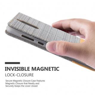 Cadorabo Hülle für Huawei MATE 10 LITE in HELL GRAU BRAUN - Handyhülle mit Magnetverschluss, Standfunktion und Kartenfach - Case Cover Schutzhülle Etui Tasche Book Klapp Style - Vorschau 4