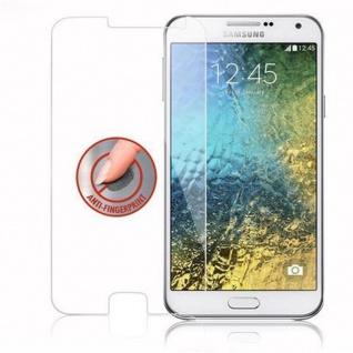 Cadorabo Panzer Folie für Samsung Galaxy E7 - Schutzfolie in KRISTALL KLAR - Gehärtetes (Tempered) Display-Schutzglas in 9H Härte mit 3D Touch Kompatibilität - Vorschau 4