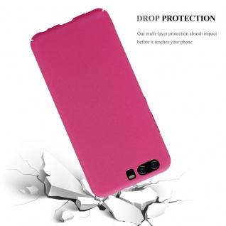 Cadorabo Hülle für Huawei P10 in FROSTY PINK - Hardcase Handyhülle aus Plastik gegen Kratzer und Stöße - Schutzhülle Bumper Ultra Slim Back Case Hard Cover - Vorschau 4