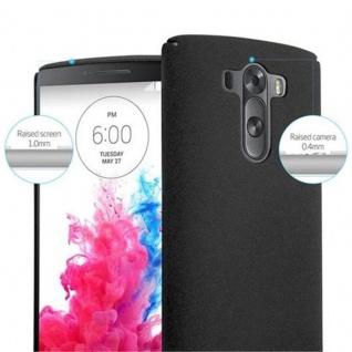 Cadorabo Hülle für LG G3 in FROSTY SCHWARZ - Hardcase Handyhülle aus Plastik gegen Kratzer und Stöße - Schutzhülle Bumper Ultra Slim Back Case Hard Cover - Vorschau 5