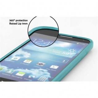Cadorabo Hülle für Huawei P8 LITE 2015 in TÜRKIS - Handyhülle aus flexiblem TPU Silikon - Silikonhülle Schutzhülle Ultra Slim Soft Back Cover Case Bumper - Vorschau 5