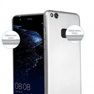 Cadorabo Hülle für Huawei P10 LITE in METALL SILBER - Hardcase Handyhülle aus Plastik gegen Kratzer und Stöße - Schutzhülle Bumper Ultra Slim Back Case Hard Cover - Vorschau 2