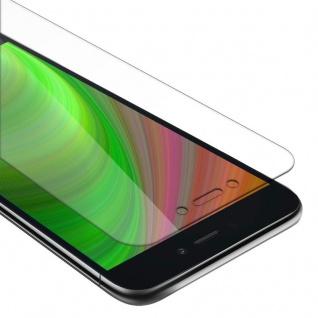 Cadorabo Panzer Folie für Xiaomi RedMi GO Schutzfolie in KRISTALL KLAR Gehärtetes (Tempered) Display-Schutzglas in 9H Härte mit 3D Touch Kompatibilität