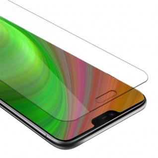 Cadorabo Panzer Folie für Nokia 7.1 2018 - Schutzfolie in KRISTALL KLAR - Gehärtetes (Tempered) Display-Schutzglas in 9H Härte mit 3D Touch Kompatibilität