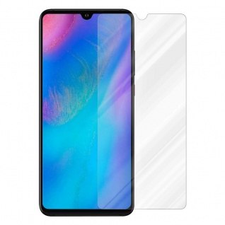 Cadorabo Panzer Folie für Huawei P30 - Schutzfolie in KRISTALL KLAR - Gehärtetes (Tempered) Display-Schutzglas in 9H Härte mit 3D Touch (RETAIL PACKAGING)